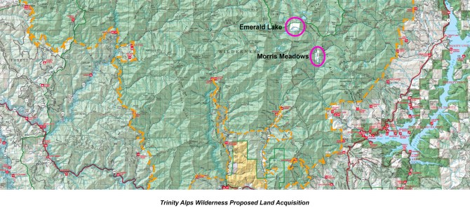 Forest Service seeks to acquire two botanically spectacular parcels