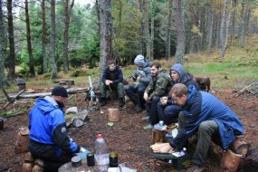 Bushcraft and Wilderness skills in the Britain's most northerly Survival School