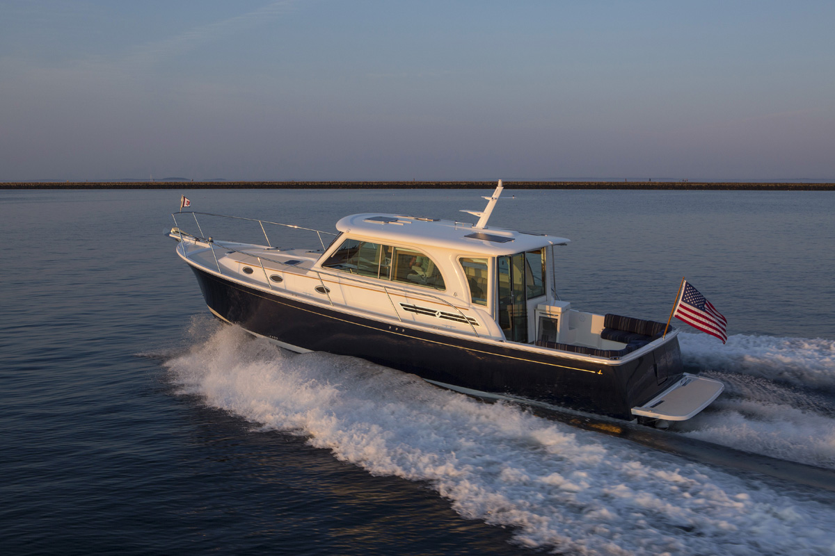 Images Of The Back Cove 41 Day Boat Built In Rockland Maine Back Cove Yachts