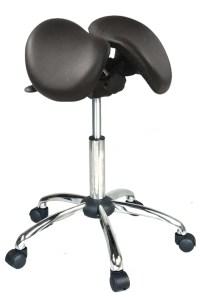 Kanewell 901SNL Twin Ergonomic Saddle Seat, Leather ...
