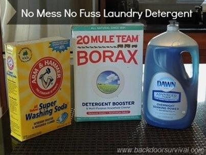 No Muss No Fuss Laundry Detergent