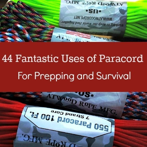 44 Fantastic Uses of Paracord for Prepping & Survival  Backdoor Survival 