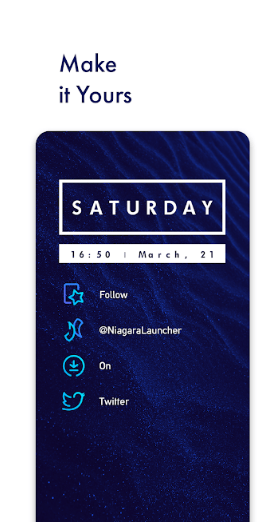 niagara launcher clean and stylish launcher app
