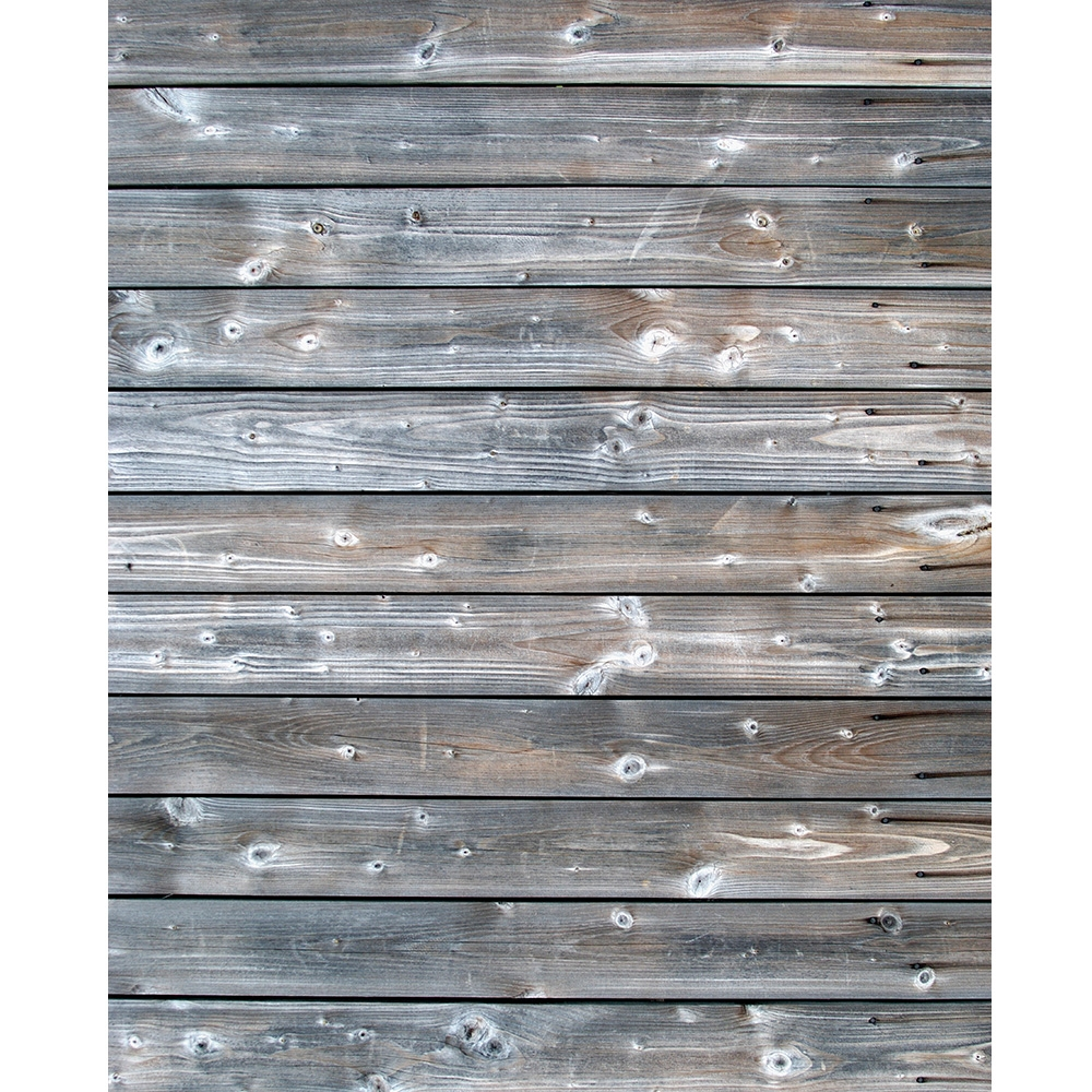 Gray Stained Wood  Backdrop Express
