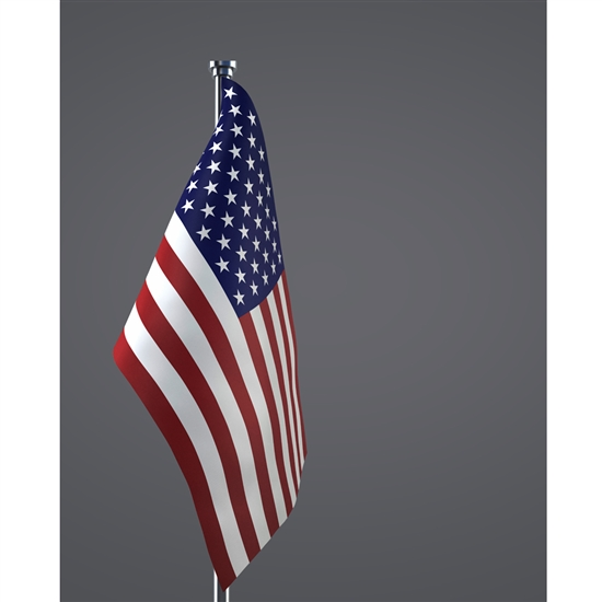 formal american flag printed