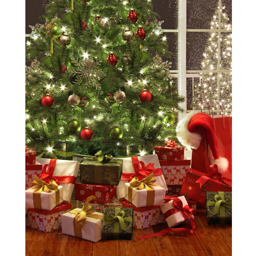 Christmas Is Here Printed Backdrop Backdrop Express
