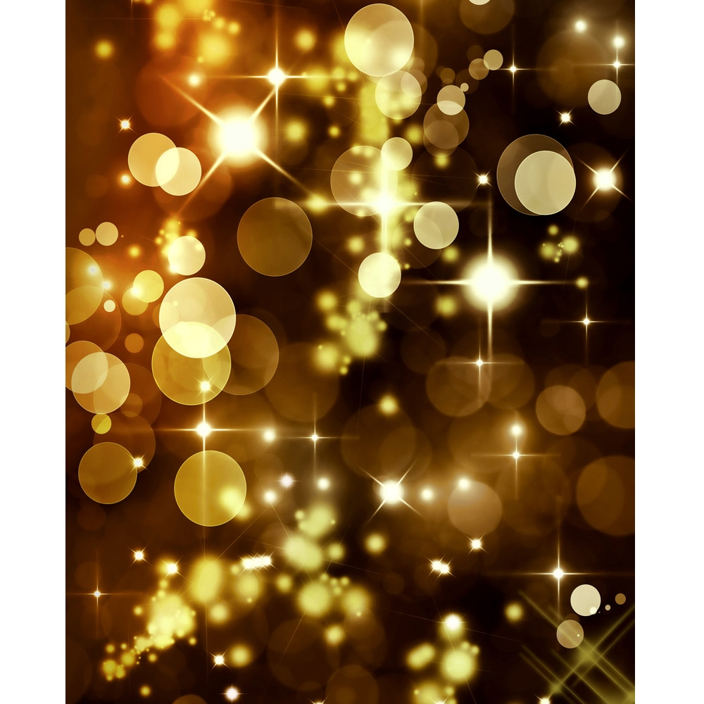 Gold Bokeh Printed Backdrop  Backdrop Express