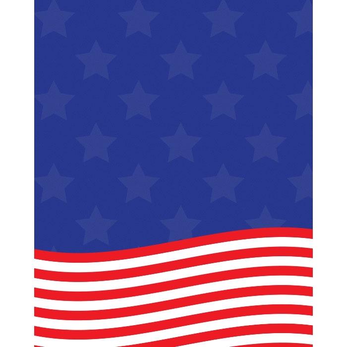 american flag printed backdrop