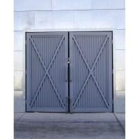 Steel Barn Doors Printed Backdrop | Backdrop Express