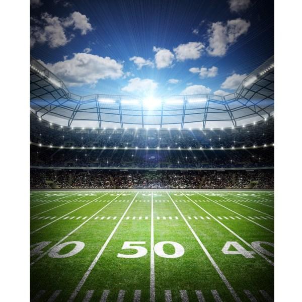 Digital Football Field Backdrop