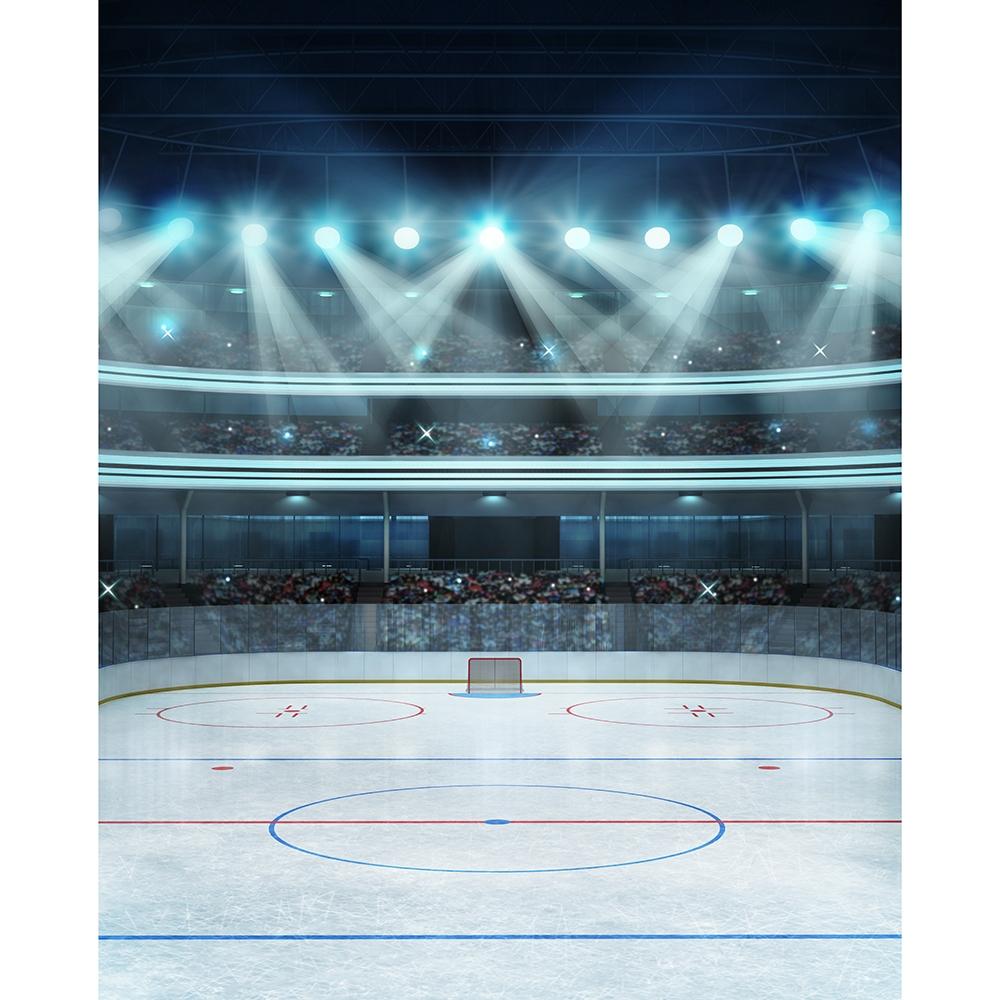 Free Fall Halloween Wallpaper Hockey Stadium Printed Backdrop Backdrop Express