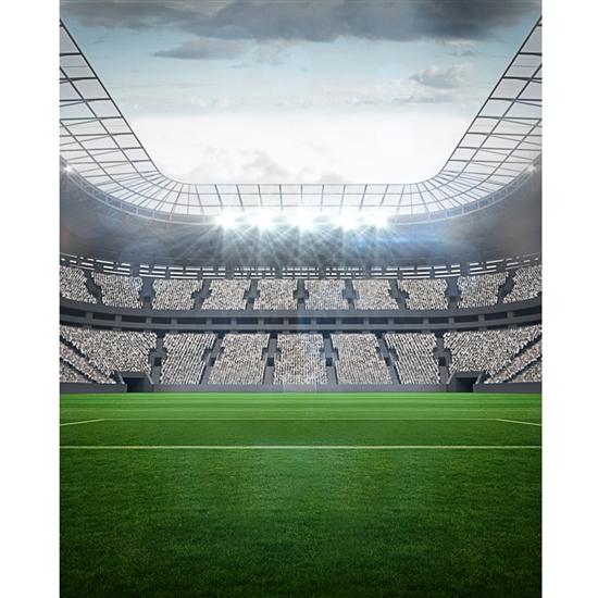 Sports Arena Printed Backdrop  Backdrop Express