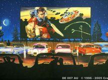 50s Drive In   Backdrops Fantastic Australia