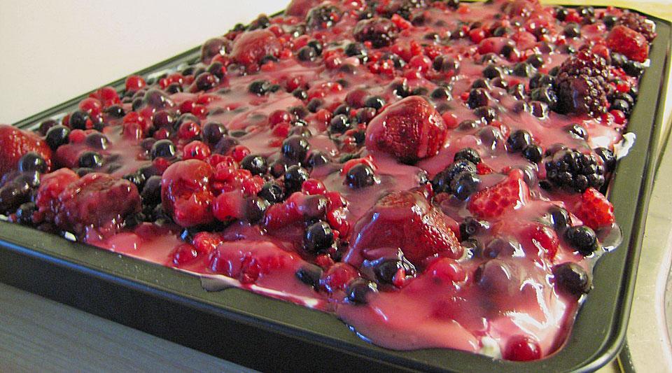 Beerenkuchen fr Frhling und Sommer  Backen macht glcklich