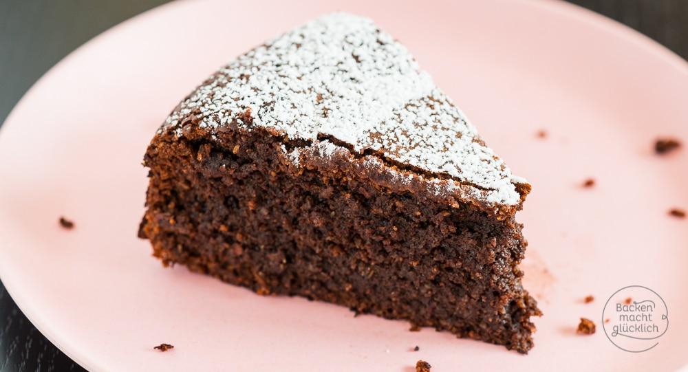 Schokoladenkuchen ohne Mehl  Backen macht glcklich