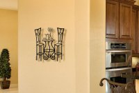 Metal Wall art - Bistro French Table- Medium