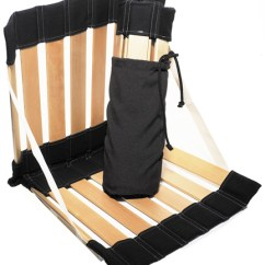 Portable Beach Chair Metal Stackable Chairs Ergolife Stol - Back In Action