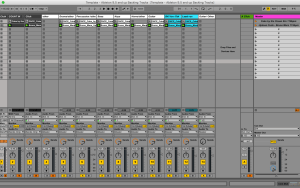 Template - Ableton 9.5 and up Backing Tracks