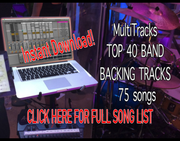 75 songs Top 40 – Instant Download – ABLETON BACKING TRACKS