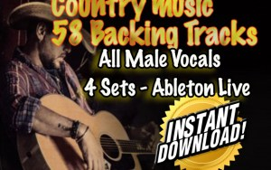Country Music Backing tracks all male vocals ableton live
