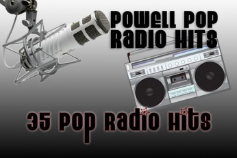 POWELL POP RADIO HITS 35 Songs Backing Tracks