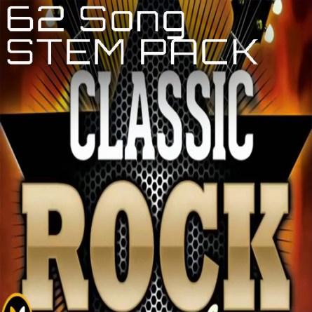 Classic Rock Stems Backing Tracks