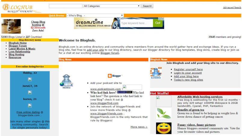 bloghub directory
