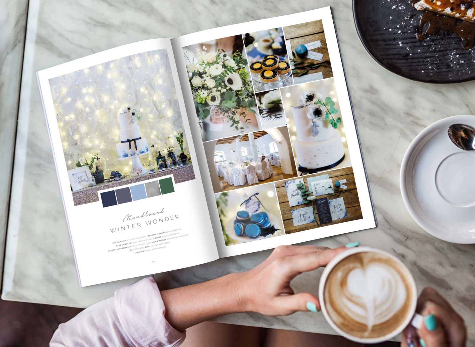 50 Moodboards  Color Concepts for Weddings meine Buchempfehlung   Backlinse