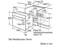 Bosch HND32PS55 Backofen