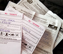 Papiers nécessaires pour passer la frontière Pérou-Bolivie