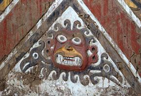 Fresque du Dieu Ai-apaec