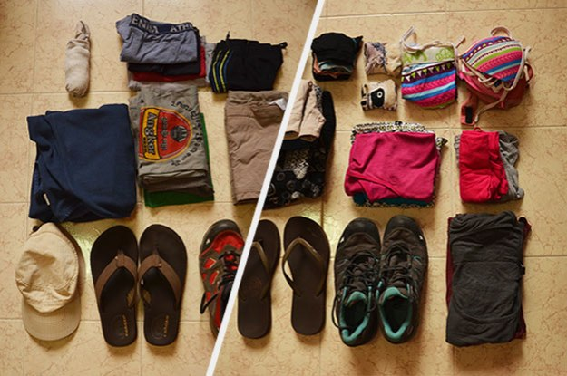 Vêtements de voyage