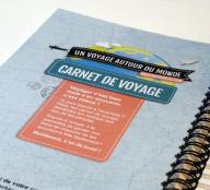 Couverture du Carnet de voyage Backpackadeux