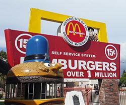 Le musée du McDonald's, sur la route 66
