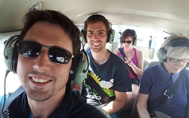 Vol au-dessus des lignes de Nazca