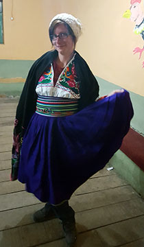 Soirée sur le lac Titicaca
