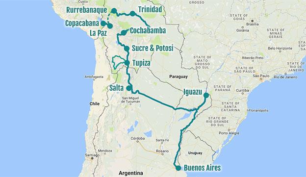 Bilan de la Bolivie et l'Argentine