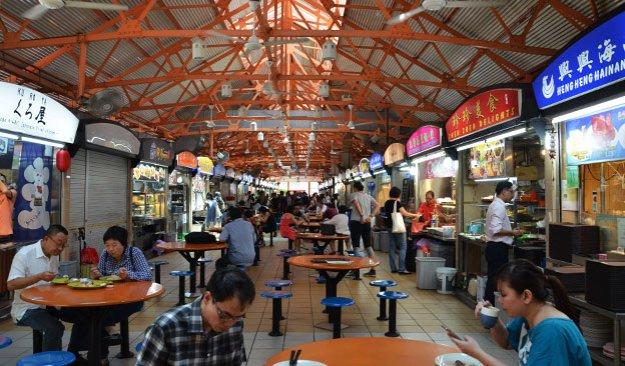 Maxell Hawker Food à Chinatown