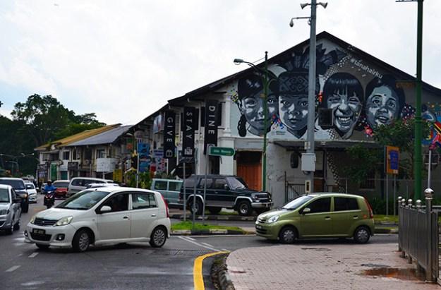Les restaurants de Kutching
