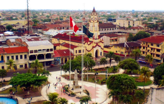Place des Armes à Iquitos