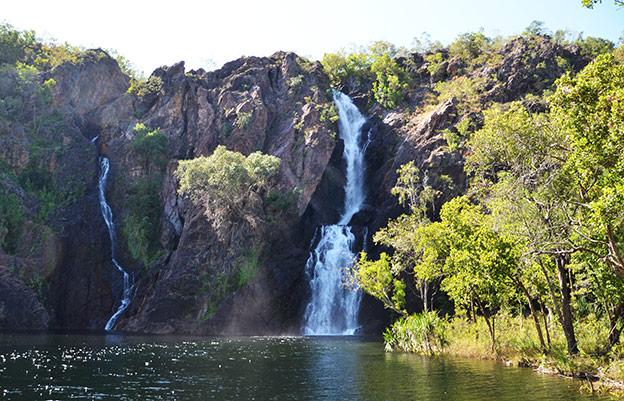 Les chutes d'eau de Litchfield