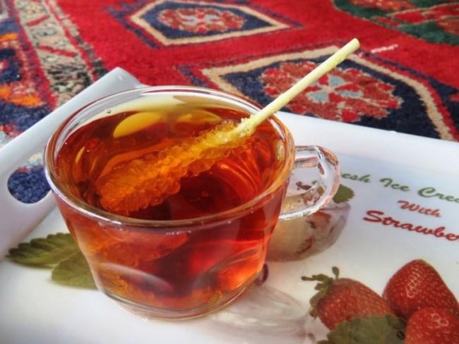 Tea in Palangan Iran