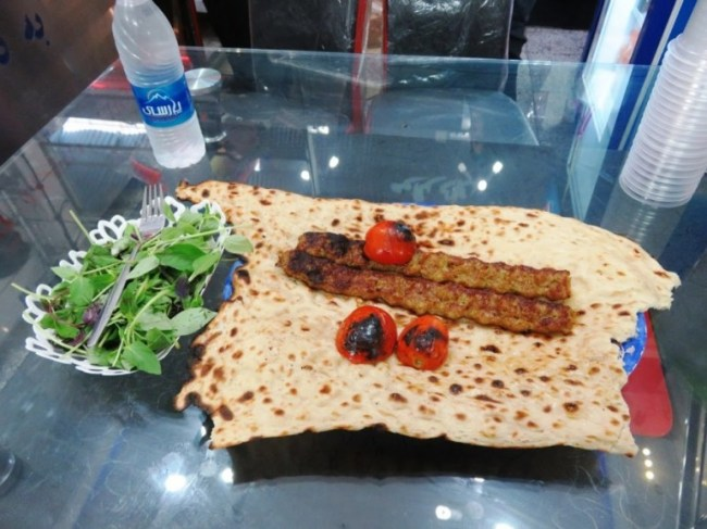 kebab is the national persian food of iran