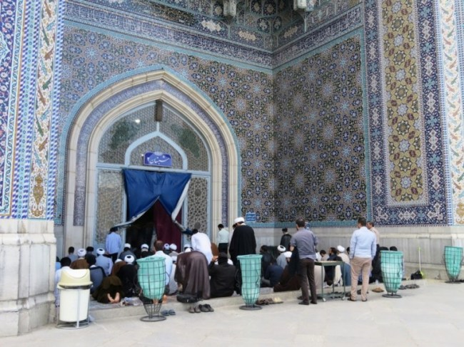Fatehmeh shrine in Qom Iran