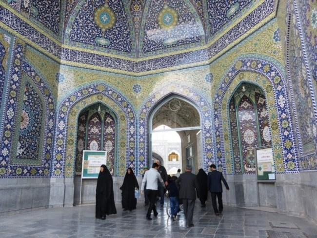 Fatehemeh shrine in Qom Iran