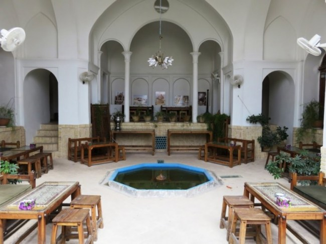 Ehsan house in Kashan is among the best hotels in Iran