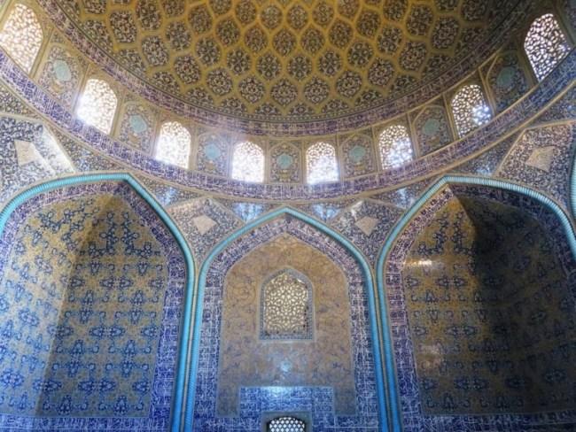 Sheikh Lotfollah mosque at the Naqs-e Jahan square in Isfahan Iran