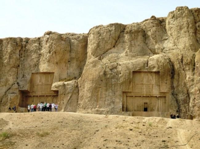 tombs at Naqsh e Rustam near Persepolis