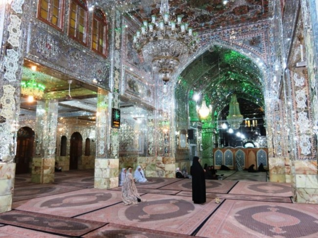 Alaudeen Hussain Ibn-e Mussa Kazem shrine in Shiraz
