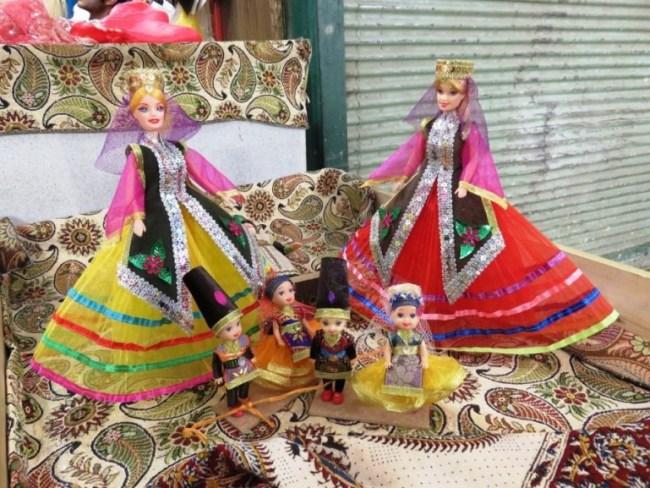 Qashqai traditional clothes